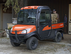 Kubota RTV1100 Jobsite Utility Vehicle